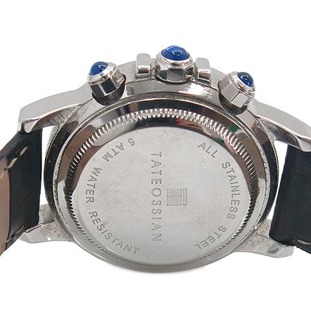 TATEOSSIAN(타테오시안) 베젤 크리스탈 장식 크로노그래프 여성용 시계