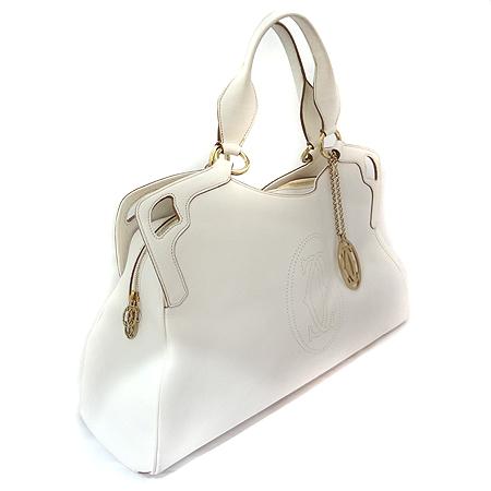 Cartier(까르띠에) 마르첼로 금장 로고 장식 L 사이즈 토트백 [일산매장]