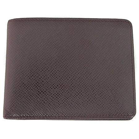 Louis Vuitton(루이비통) M30488 타이가 레더 6 크레딧 카드 슬롯 반지갑