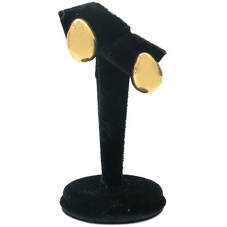 MONET(모넷) 금장 원형 귀걸이