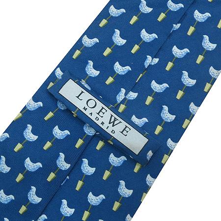 Loewe(로에베) 100% 실크 넥타이