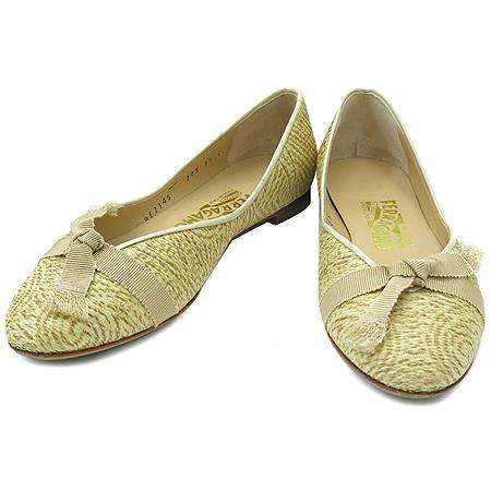 Ferragamo(페라가모) 리본 장식 여성용 구두