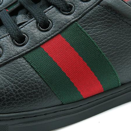 Gucci(구찌) 225665 블랙래더 삼색 스티치 여성용 스니커즈