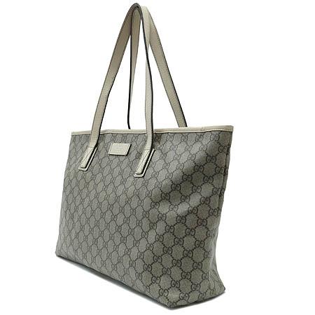 Gucci(구찌) 181084 GG 로고 PVC 쇼퍼 숄더백 이미지3 - 고이비토 중고명품