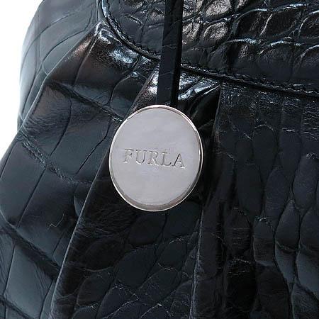 FURLA(훌라) 크로커다일 페턴 토트백