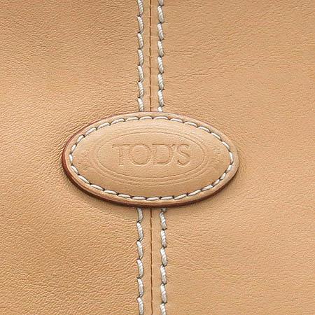 Tod's(토즈) 베이지 레더 쇼퍼 숄더백 이미지3 - 고이비토 중고명품