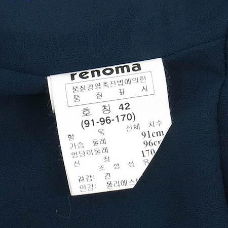 RENOMA(레노마) 플라워 프린팅 실크 나시 원피스