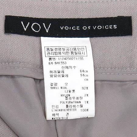 VOV(보브) 바지(벨트SET/배색:실크100)