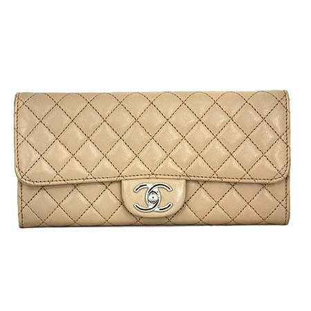 Chanel(샤넬) A50041 소프트카프스킨 베이지 퀼팅 클래식 썸머 플랩 클러치 겸 숄더백 [명동매장]