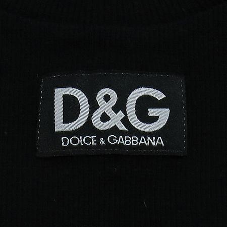 D&G(돌체&가바나) U넥 반팔 티