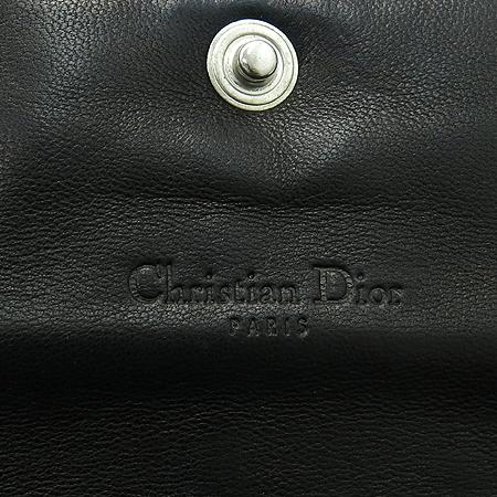 Dior(크리스챤디올) 02-LU-0069 은장 로고 장식 지갑 겸 숄더백
