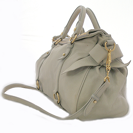 MiuMiu(�̿�̿�) RT0365 VITELLO LUX ���� ��� ��ÿ 2WAY