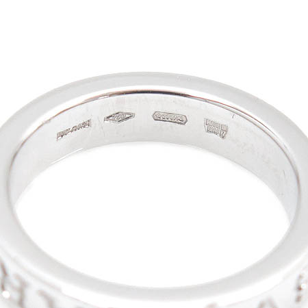 Bvlgari(불가리) 18K(750) 화이트 골드 NEW BB 1포인트 다이아 반지 - 9호