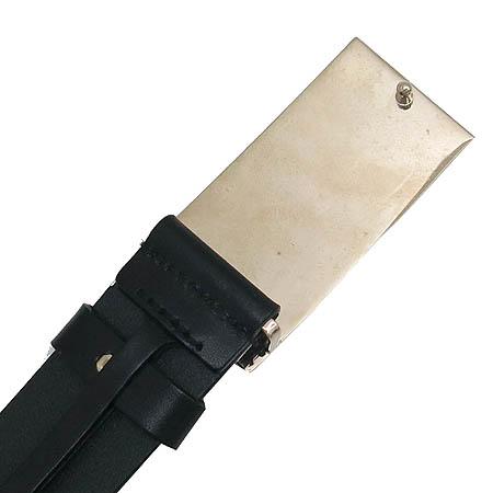 Gucci(구찌) 170882 금장 삼선 버클 블랙 레더 벨트