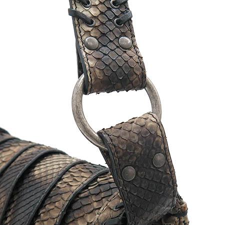Dior(크리스챤디올) 리미티드 에디션 파이손 레더 가우쵸 숄더백