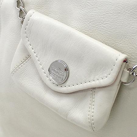 Coach(코치) 14832 은장 로고 장식 보조 동전 지갑 네임 참 장식 2WAY 이미지5 - 고이비토 중고명품