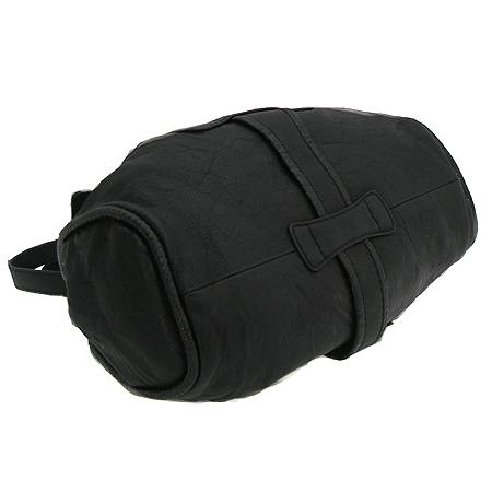 JIMMY CHOO(지미추) 블랙 레더 금장 로고 장식 라모나 숄더백 [강남본점] 이미지3 - 고이비토 중고명품
