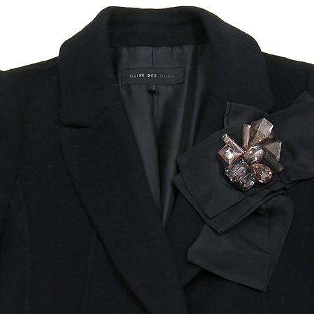OLIVE DES OLIVE(올리브데올리브) 캐시미어 혼방 코트 (브롯치 set) 이미지2 - 고이비토 중고명품