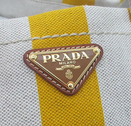 Prada(프라다) BN2042 삼각 로고 패브릭 2WAY