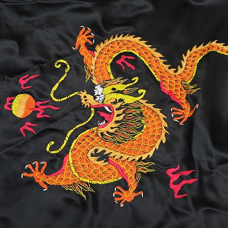 금룡(Golden Dragon) 용 자수 가운(허리끈 Set) 이미지5 - 고이비토 중고명품