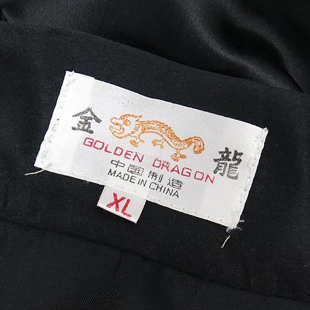 금룡(Golden Dragon) 용 자수 가운(허리끈 Set)