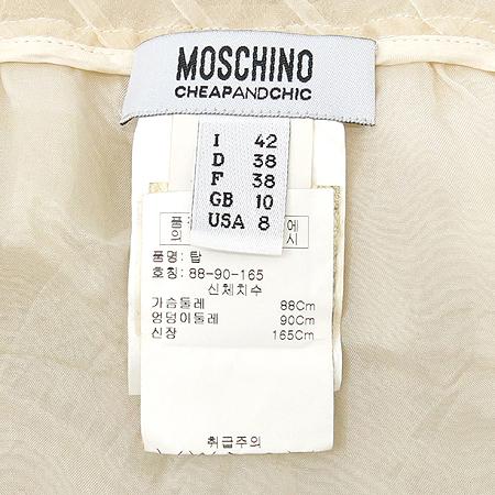 Moschino(모스키노) 레이스 나시