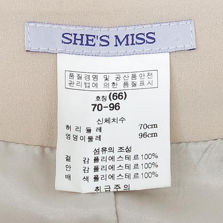 SHE'S MISS(쉬즈 미스) 스커트 이미지4 - 고이비토 중고명품