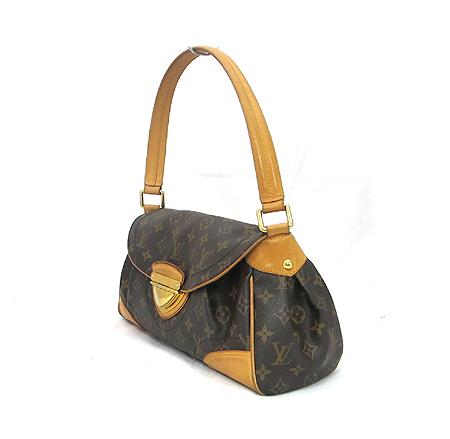 Louis Vuitton(루이비통) M40121 모노그램 캔버스 비버리 MM 숄더백 이미지2 - 고이비토 중고명품