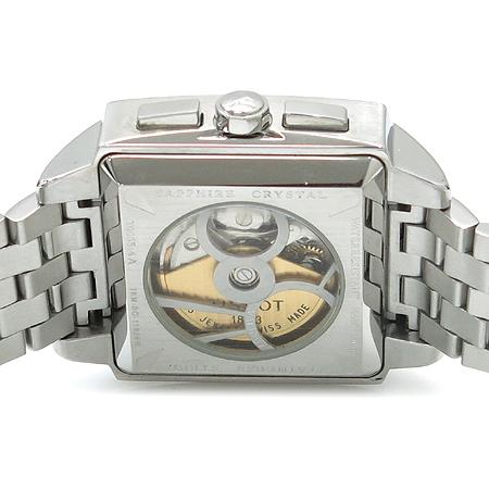 TISSOT(티쏘) T005.514.11.061.00 Quadrato(콰드라토) 크로노 그래프 시스루백 스틸 남성용 시계 [명동매장] 이미지5 - 고이비토 중고명품