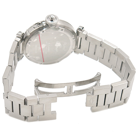 Cartier(까르띠에) PASHA(파샤) 라운드 스틸 35MM 오토매틱 남여공용 시계