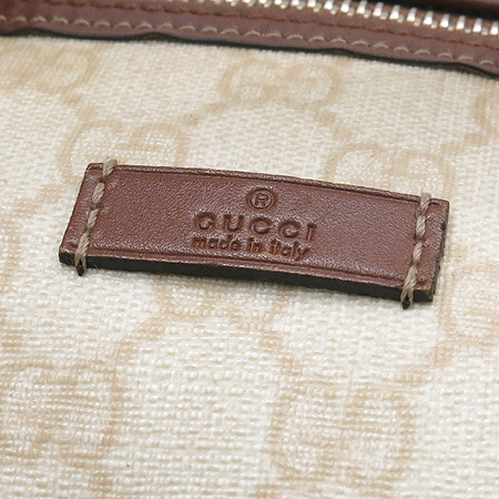 Gucci(구찌) 193603 GG 로고 PVC 보스톤 토트백