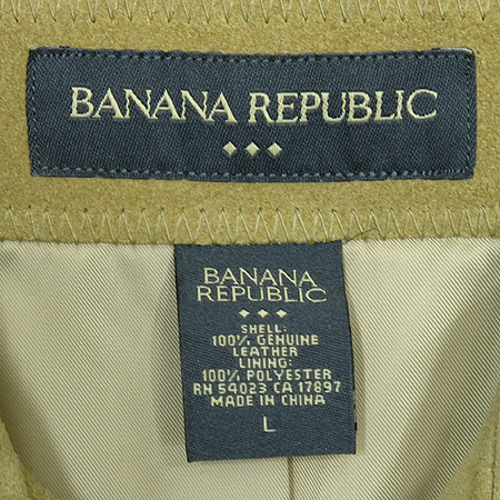 Banana Republic(바나나리퍼블릭) 소가죽 점퍼 [동대문점] 이미지4 - 고이비토 중고명품