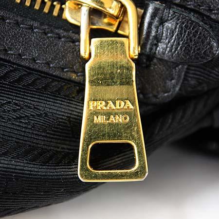 Prada(프라다) BR4037 TESSUTO GAUFRE 블랙 고프레 패브릭 체인 숄더백
