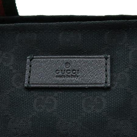 Gucci(구찌) 131230 GG 로고 자가드 삼선스티치 토트백