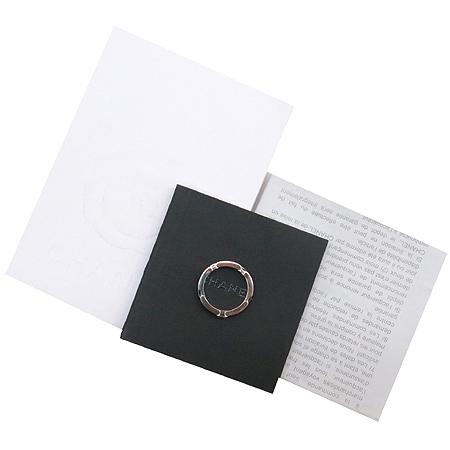 Chanel(샤넬) J3095 18K(WG) 블랙 세라믹 1포인트 다이아(0.20ct) 울트라 반지-10호 [명동매장]