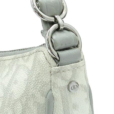Dior(크리스챤디올) LCP44870 리본 장식 PVC 디올로고 은장 체인 숄더백