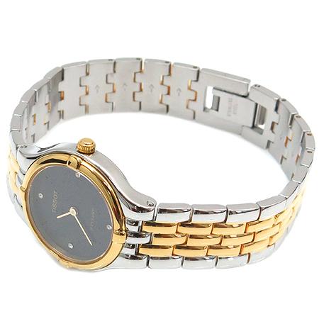 TISSOT(티쏘) V135 금장 라운드 콤비 여성용 시계 [명동매장]