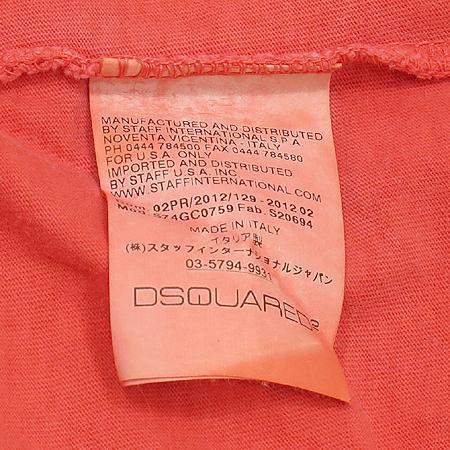 DSQUARED2(디스퀘어드2) 프린트 반팔 티 이미지5 - 고이비토 중고명품