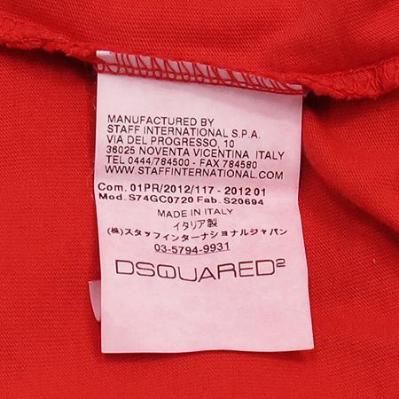 DSQUARED2(디스퀘어드2) 프린트 반팔 티 이미지4 - 고이비토 중고명품