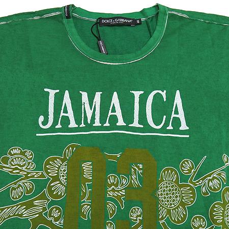 DOLCE & GABBANA(돌체&가바나) 자메이카 프린트 반팔 티 이미지2 - 고이비토 중고명품