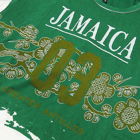 DOLCE & GABBANA(돌체&가바나) 자메이카 프린트 반팔 티 이미지3 - 고이비토 중고명품
