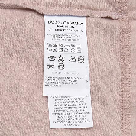 DOLCE & GABBANA(돌체&가바나) 프린트 반팔 티 이미지5 - 고이비토 중고명품