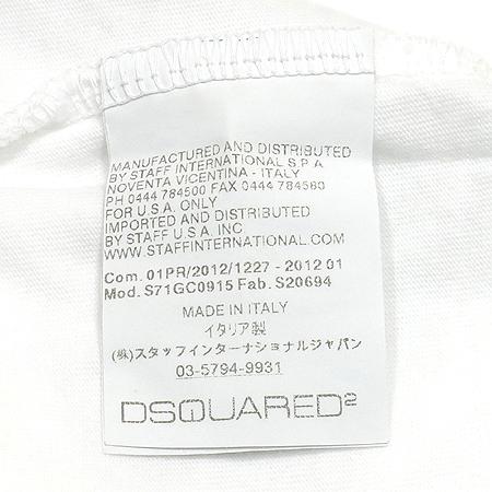 DSQUARED2(디스퀘어드2) 프린트 반팔 티