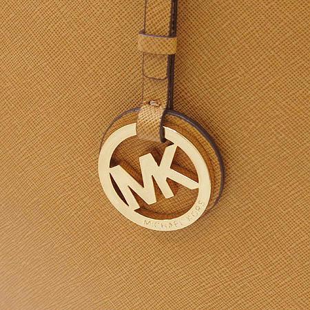 MICHAELKORS(마이클코어스) 30S2GTVT7L 카멜래더 금장 MK로고 장식 쇼퍼 숄더백 [인천점]