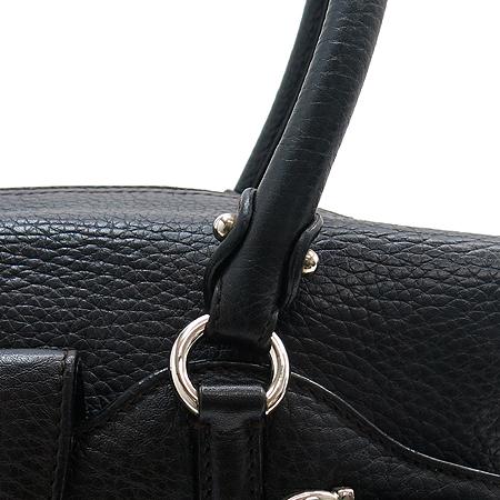 Ferragamo(페라가모) 21 6880 은장 간치니 장식 블랙 래더 토트백 이미지3 - 고이비토 중고명품