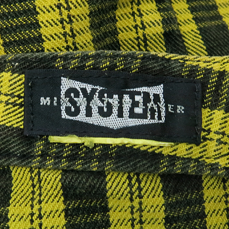 System(시스템) 체크무늬 반바지 이미지4 - 고이비토 중고명품