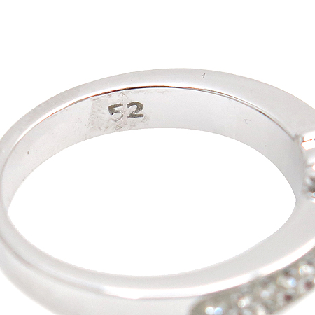 Swarovski(스와로브스키) 크리스탈 원 포인트 장식 반지