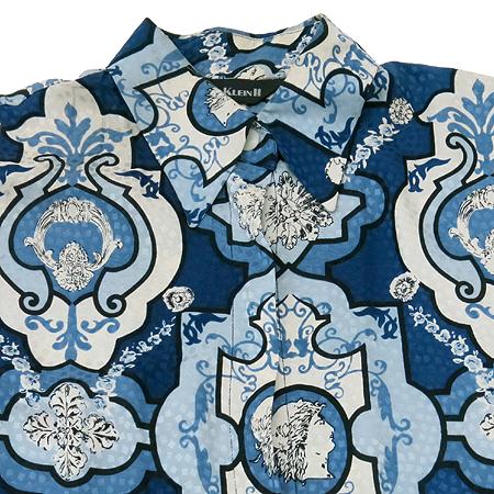 ANNE KLEIN(앤클라인) 패턴 실크 브라우스 이미지2 - 고이비토 중고명품