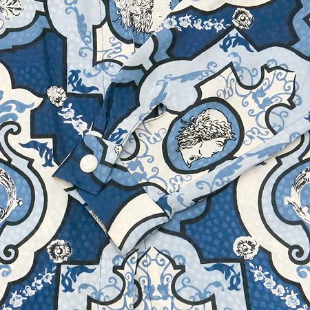 ANNE KLEIN(앤클라인) 패턴 실크 브라우스 이미지3 - 고이비토 중고명품