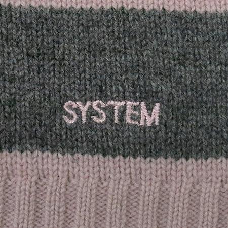 System(시스템) 반팔 니트